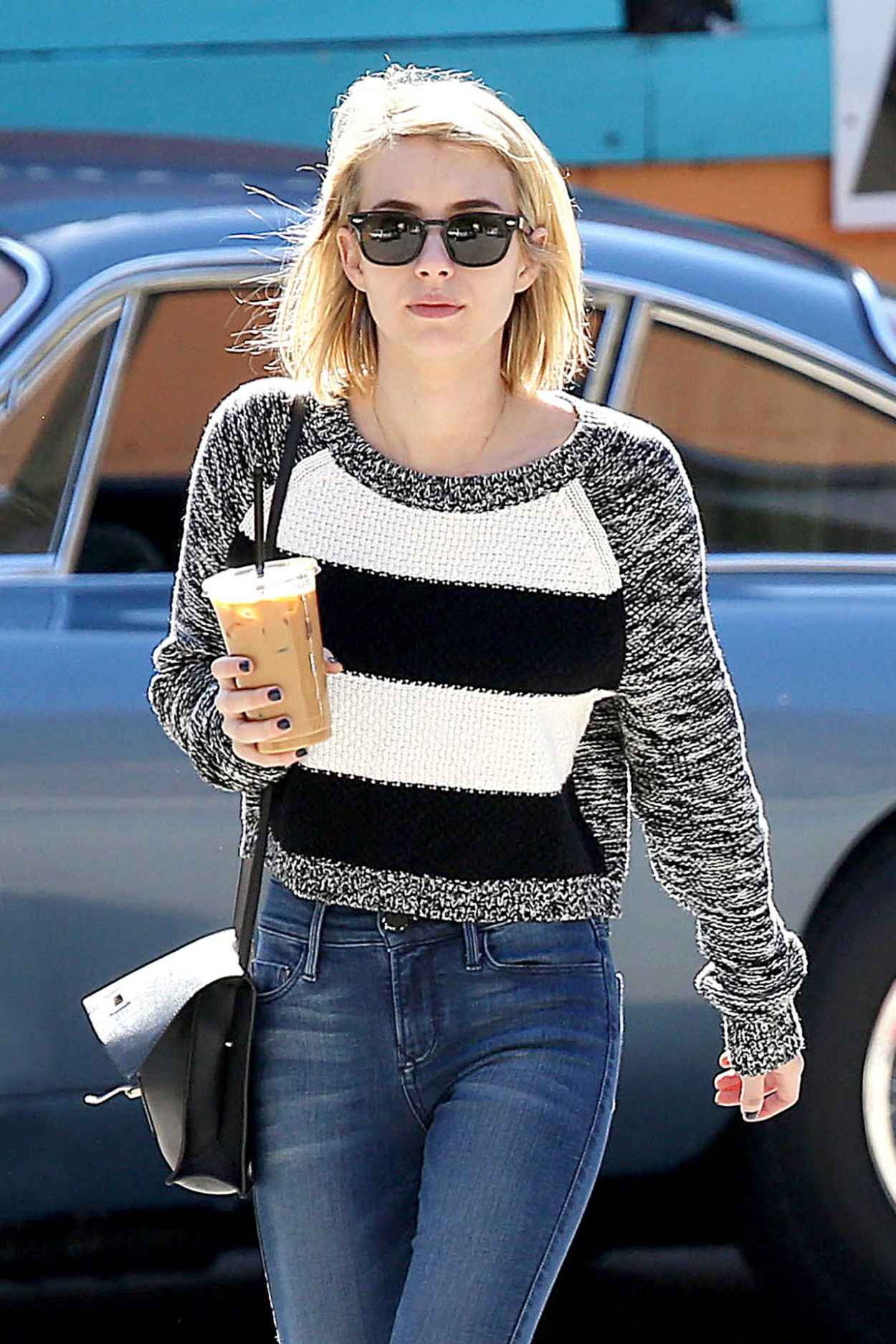 Emma Roberts Street Style - West Hollywood, February 2015-1
