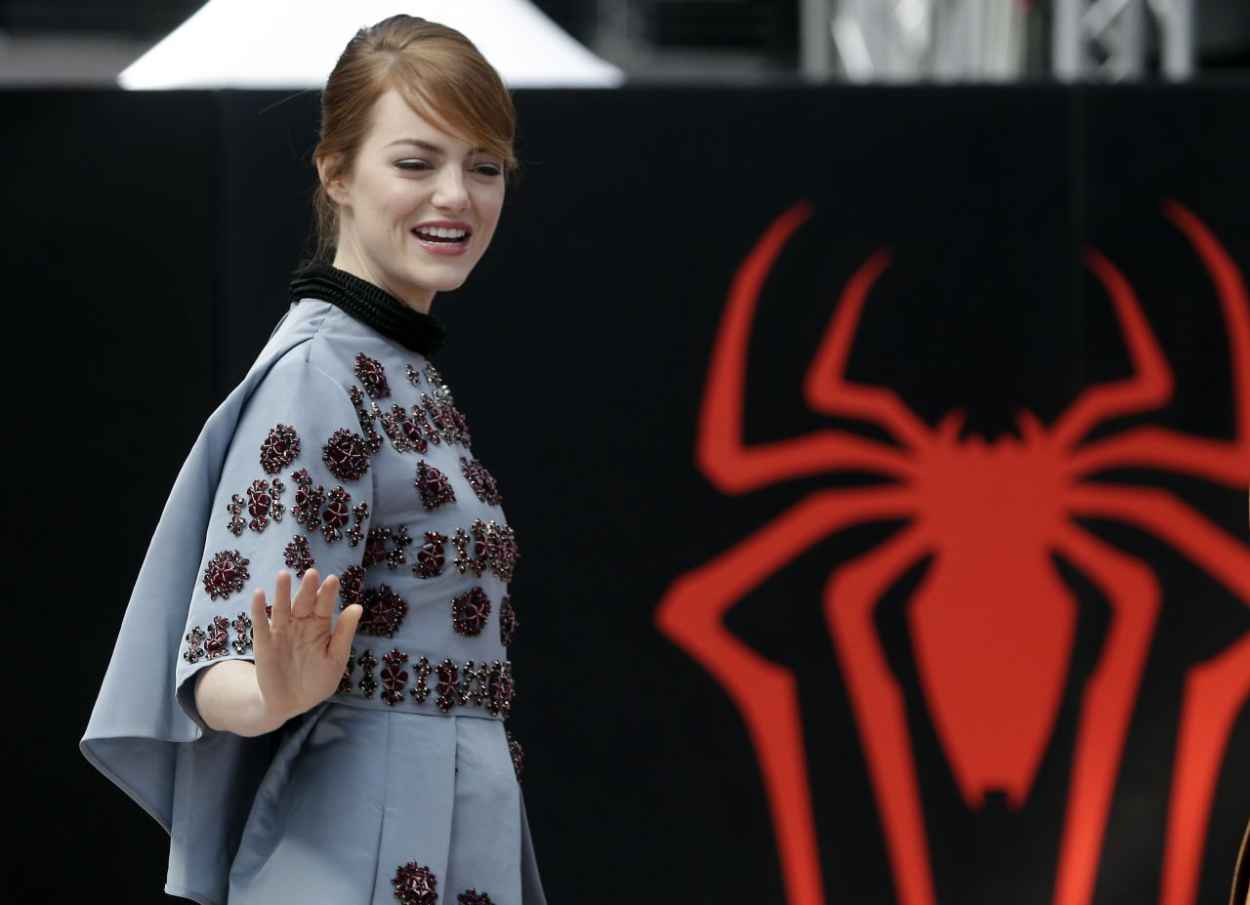 Emma Stone at The Amazing Spider-Man 2 Germany Fan Event - April 2015-1