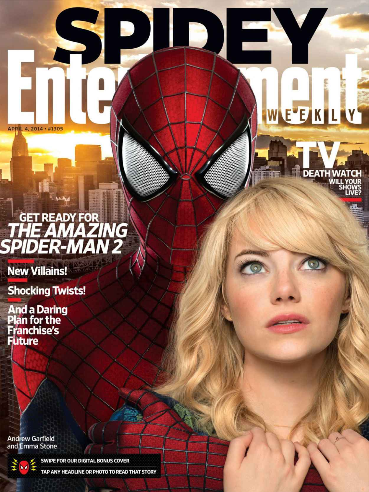 Emma Stone - Entertainment Weekly April 4, 2015 Cover-1