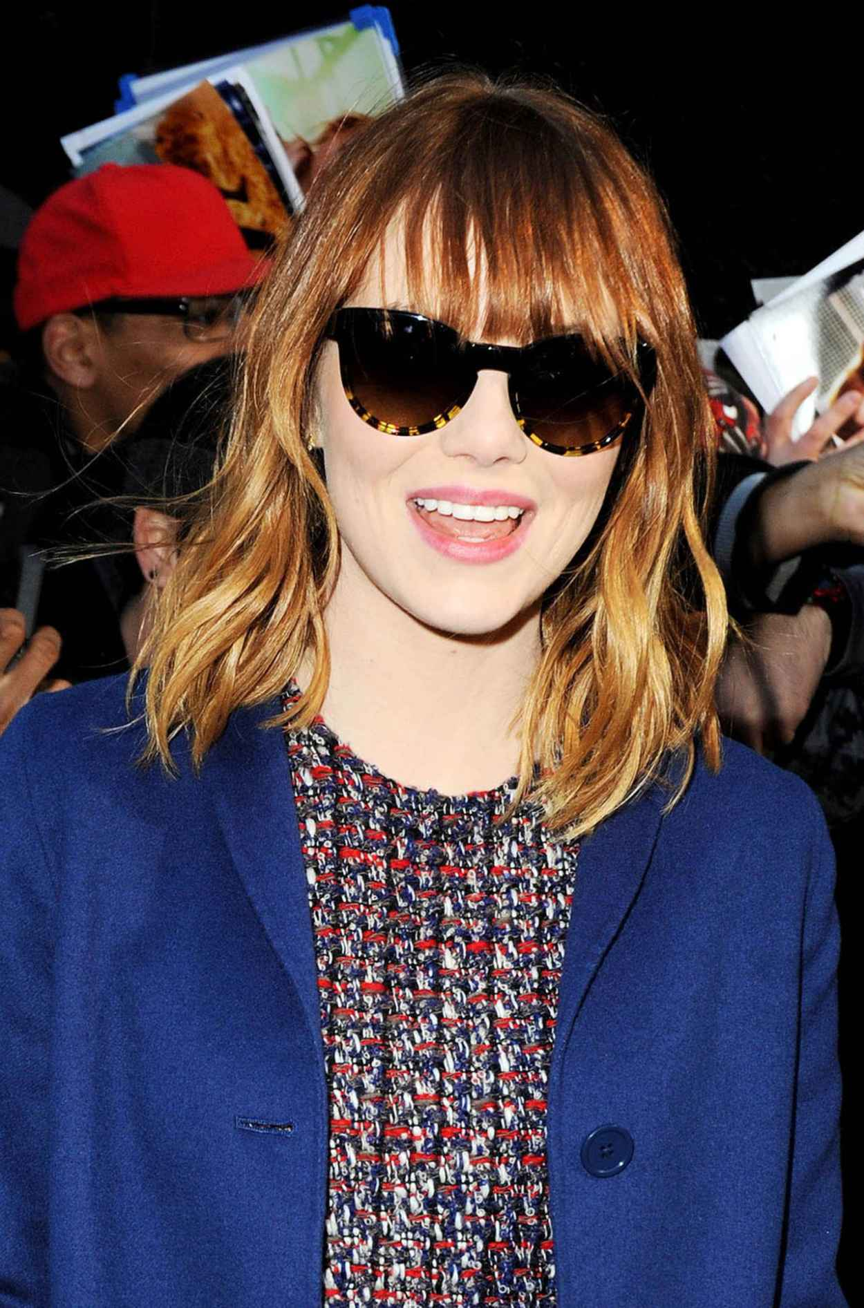 Emma Stone - Good Morning America in New York City - April 2015-1