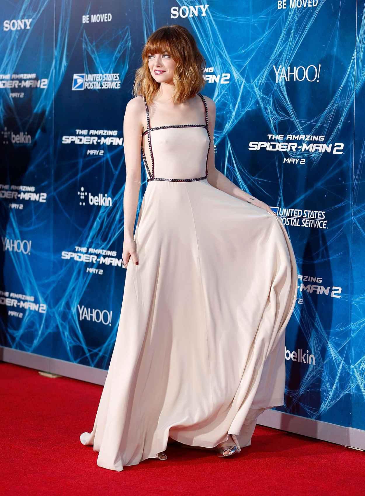 Emma Stone - The Amazing Spider-Man 2 Premiere in New York City-1