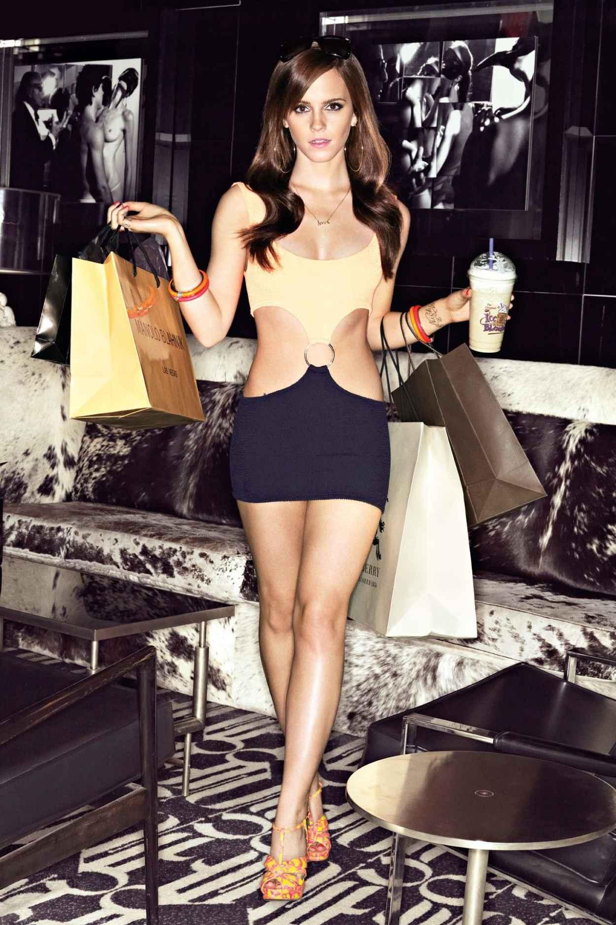 Emma Watson - GQ Magazine Photoshoot • CelebMafia
