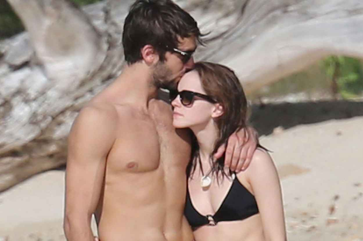 Emma Watson in a Bikini - With New Boyfriend on Holiday. January 2015-1