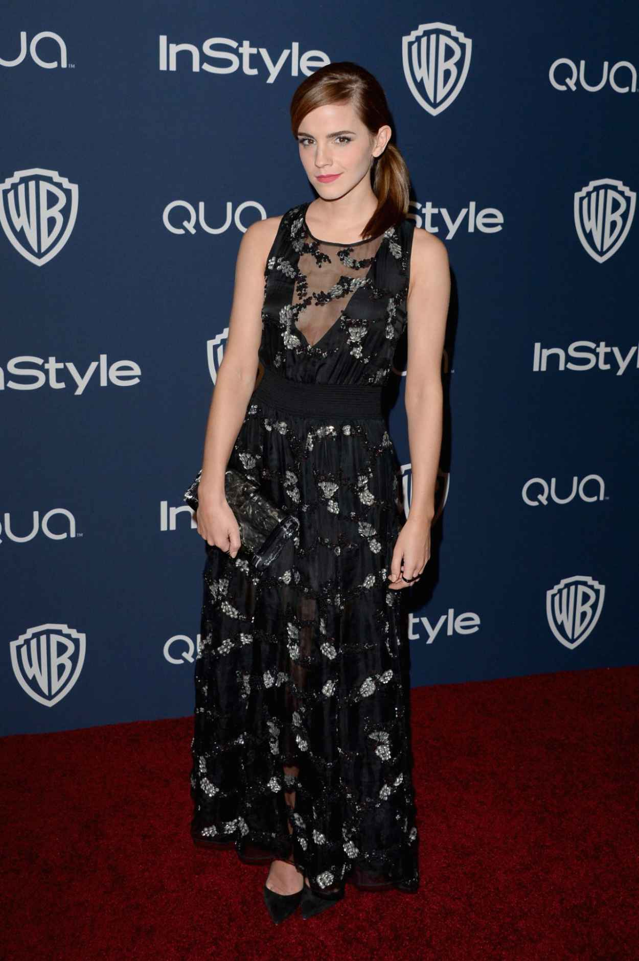 Emma Watson - InStyle & Warner Bros. 2015 Golden Globes Afterparty in Beverly Hills-1