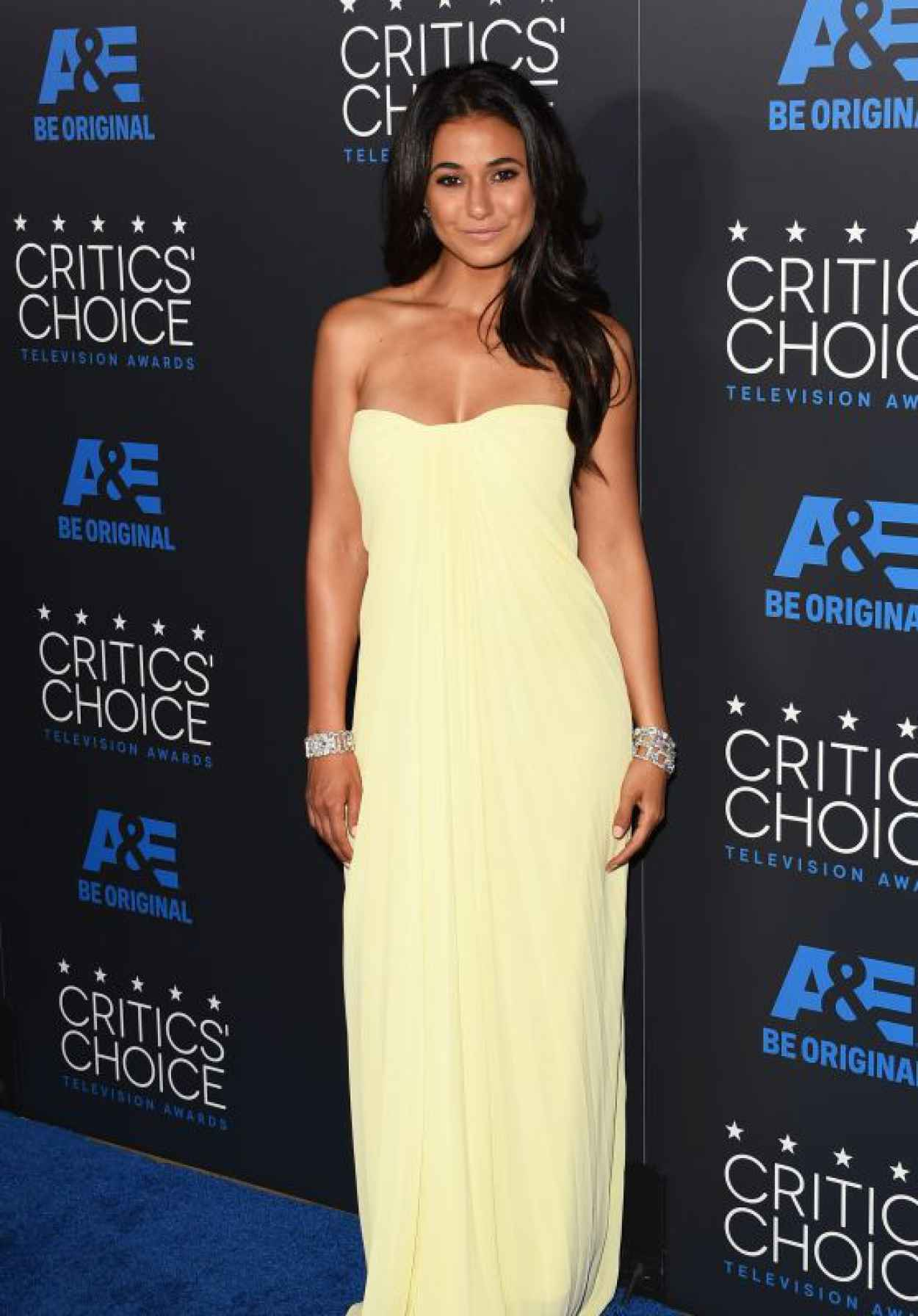 Emmanuelle Chriqui - 2015 Critics Choice Television Awards in Beverly Hills-1