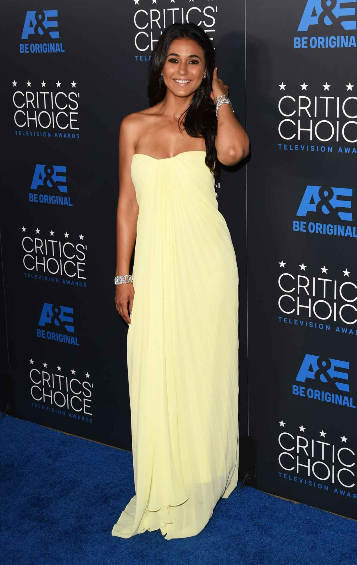 Emmanuelle Chriqui - 2015 Critics Choice Television Awards in Beverly Hills-2