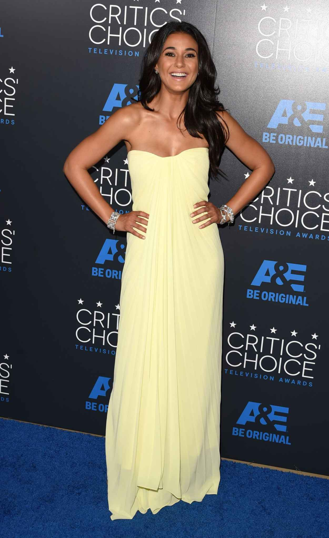Emmanuelle Chriqui - 2015 Critics Choice Television Awards in Beverly Hills-3