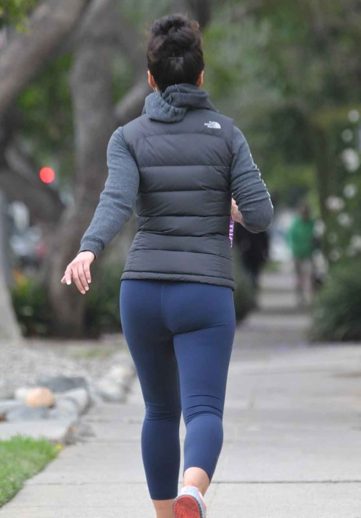 Emmanuelle Chriqui Booty in Tights, Out in Los Angeles, May 2015-1
