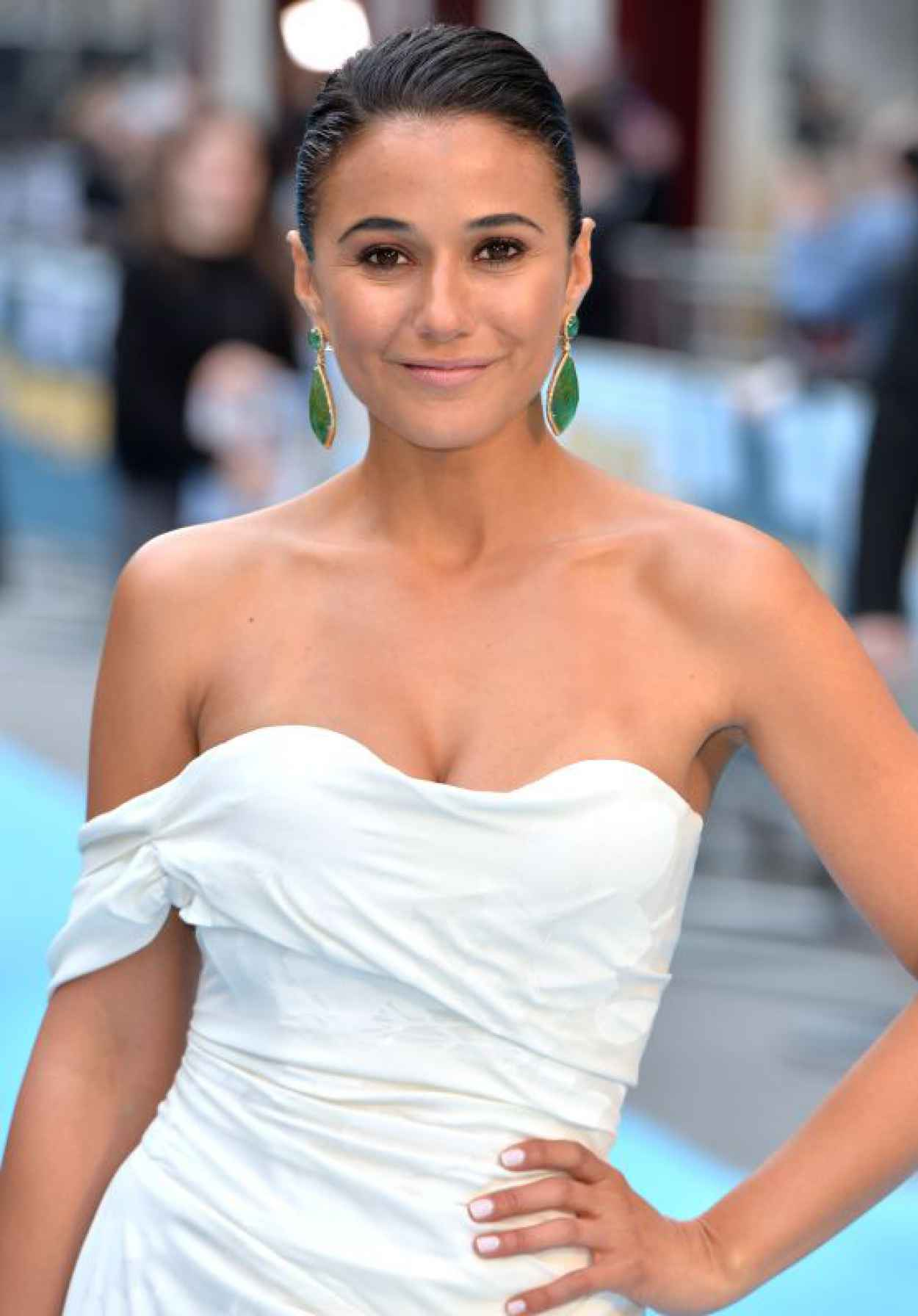 Emmanuelle Chriqui - Entourage Premiere in London-1