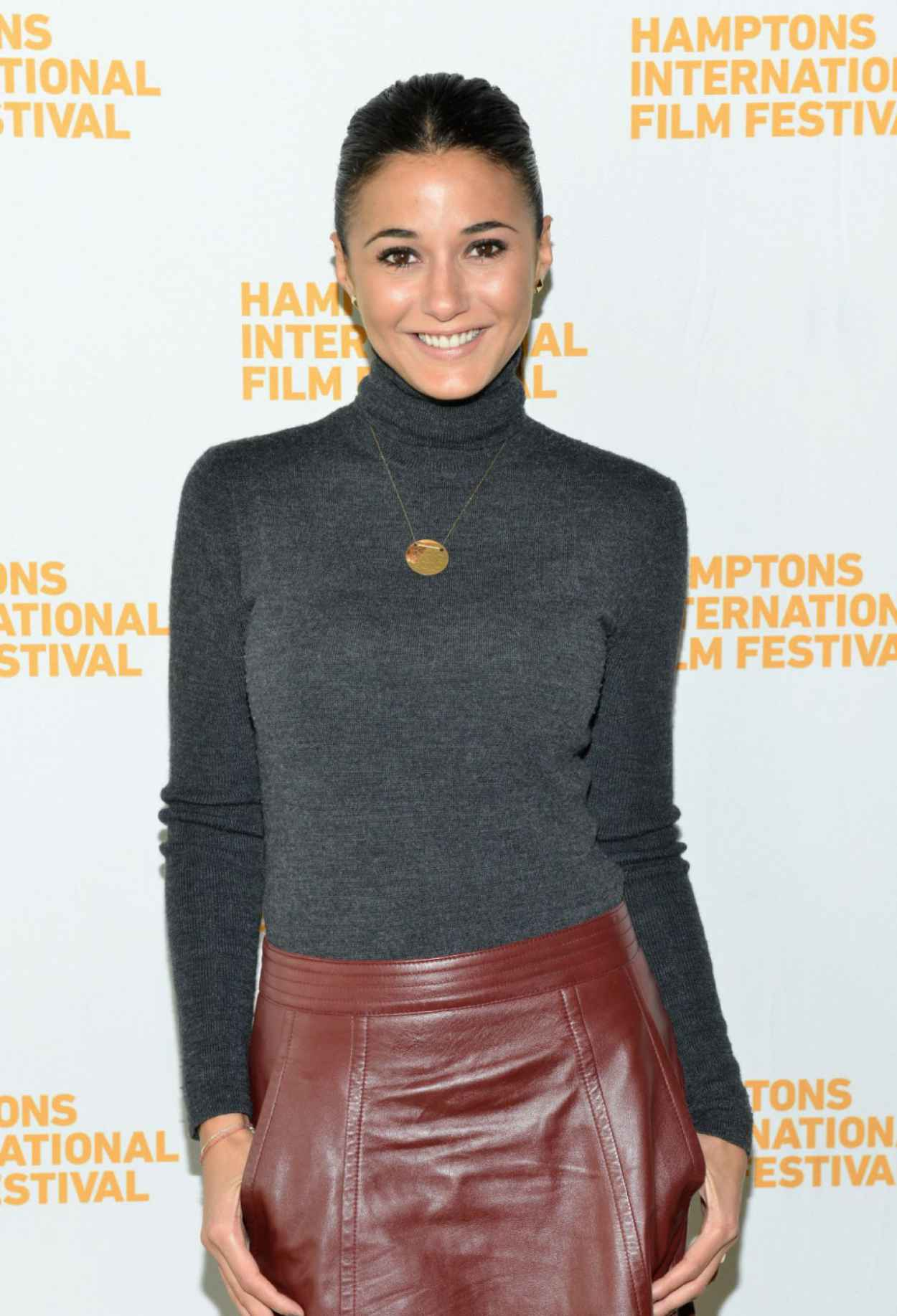 Emmanuelle Chriqui - Hamptons International Film Festival in New York-1
