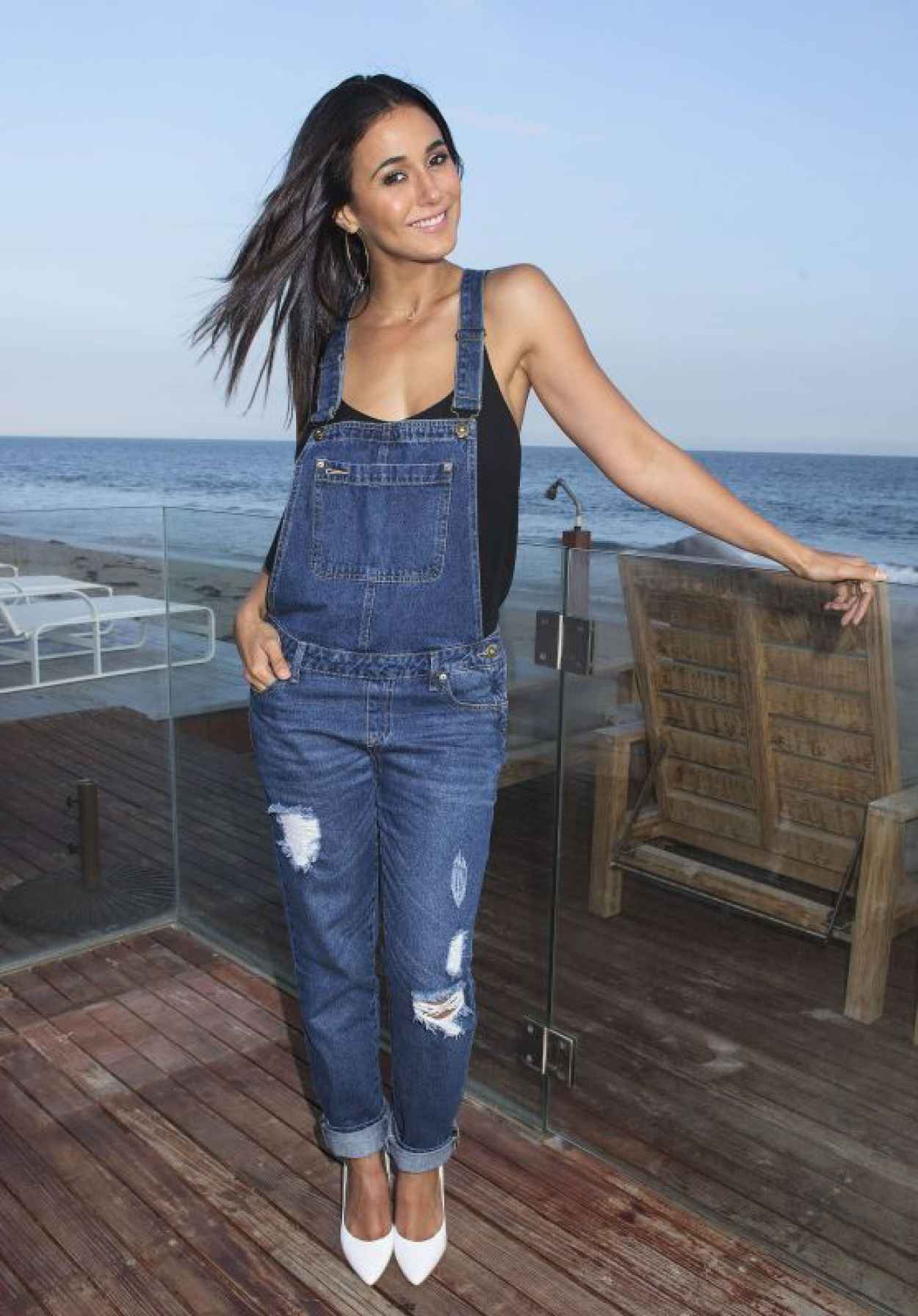 Emmanuelle Chriqui - Just Jared & JustFab Summer Dinner Party in Malibu - July 2015-1