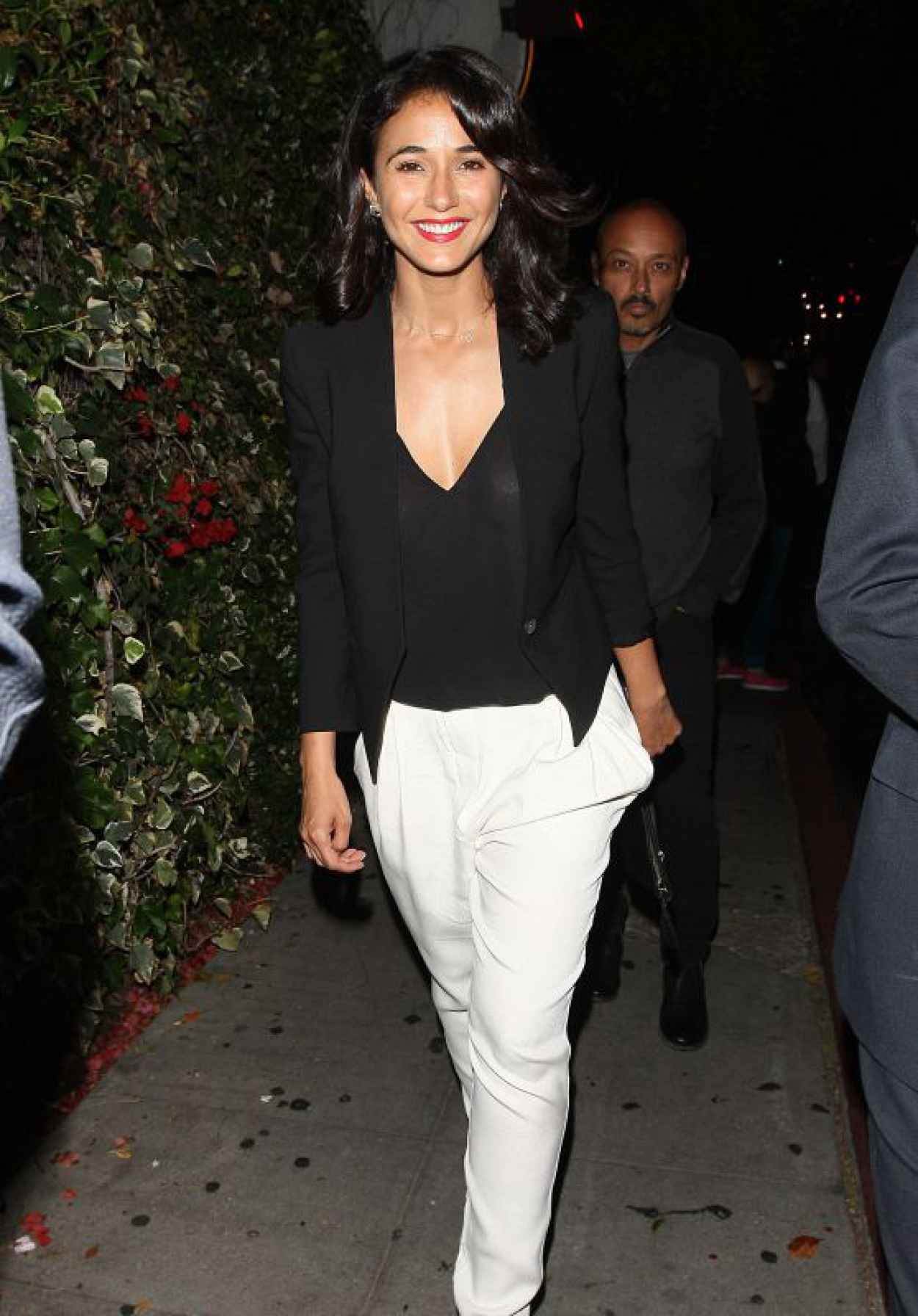 Emmanuelle Chriqui - Leaving the Chateau Marmont in West Hollywood, June 2015-1