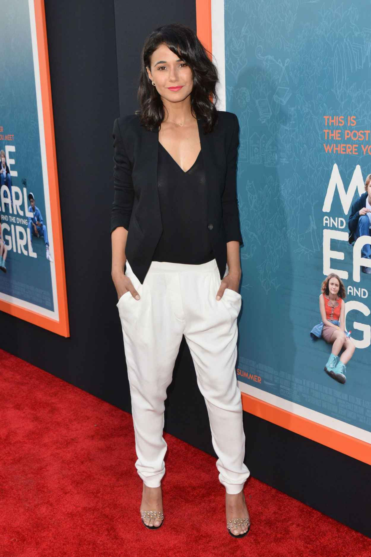 Emmanuelle Chriqui - Me & Earl & the Dying Girl Premiere in Los Angeles-4