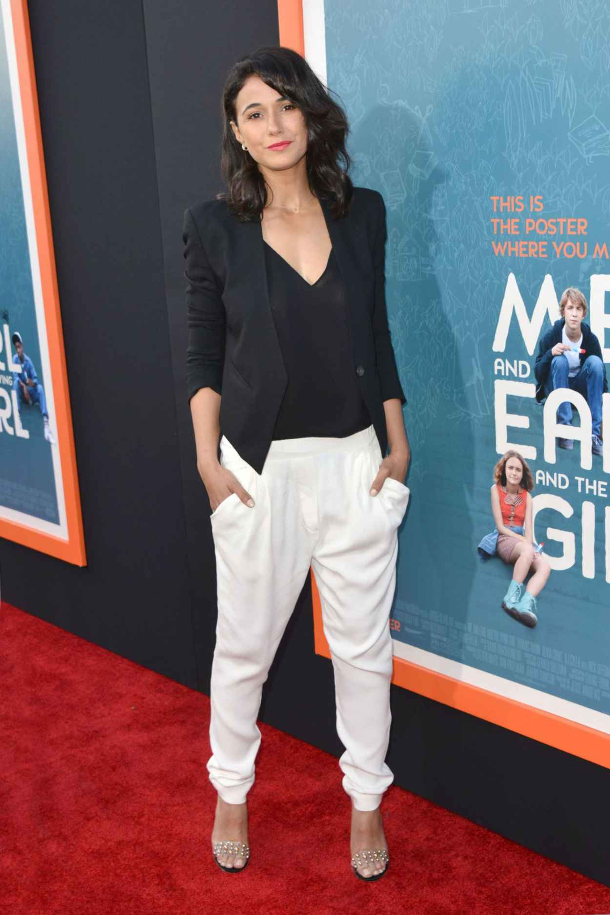Emmanuelle Chriqui - Me & Earl & the Dying Girl Premiere in Los Angeles-5