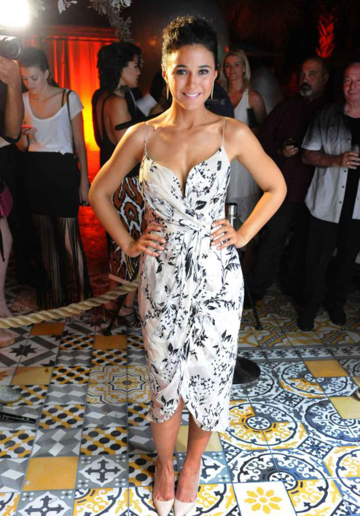 Emmanuelle Chriqui - Ocean Drive Magazine Cover Party in Miami Beach, June 2015-1