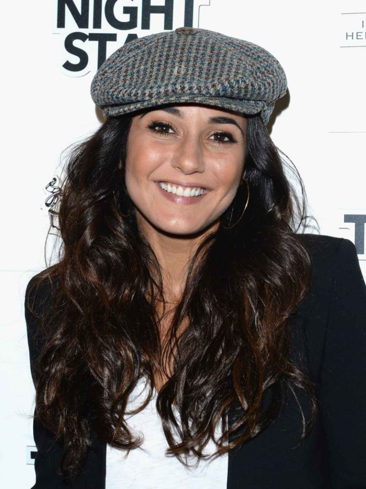 Emmanuelle Chriqui - Three Night Stand Cocktail Hour - Park City, January 2015-1