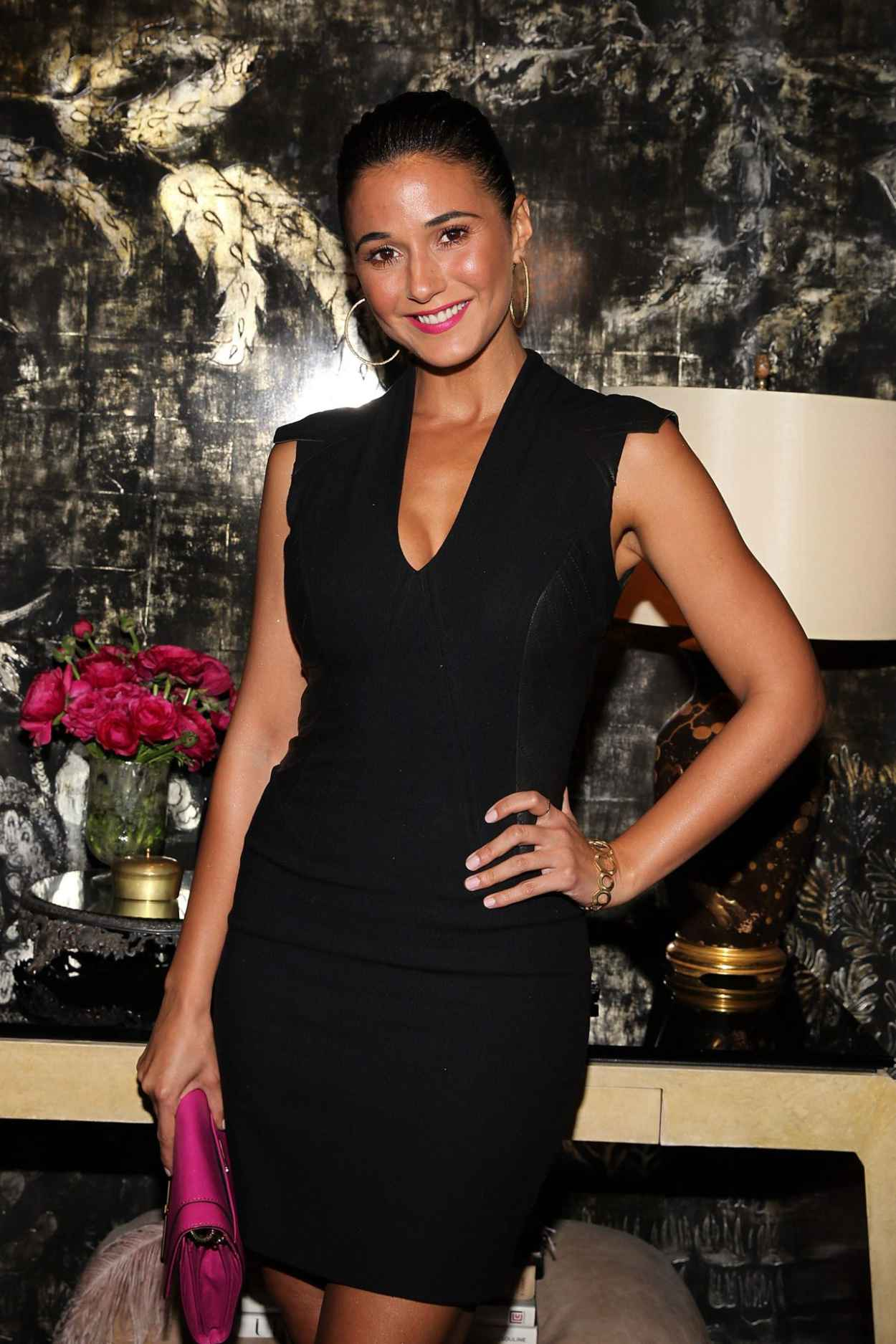 Emmanuelle Chriqui - VIOLET GREY & Bobbi Brown Celebrate The GIRL RISING Movement in Los Angeles-1