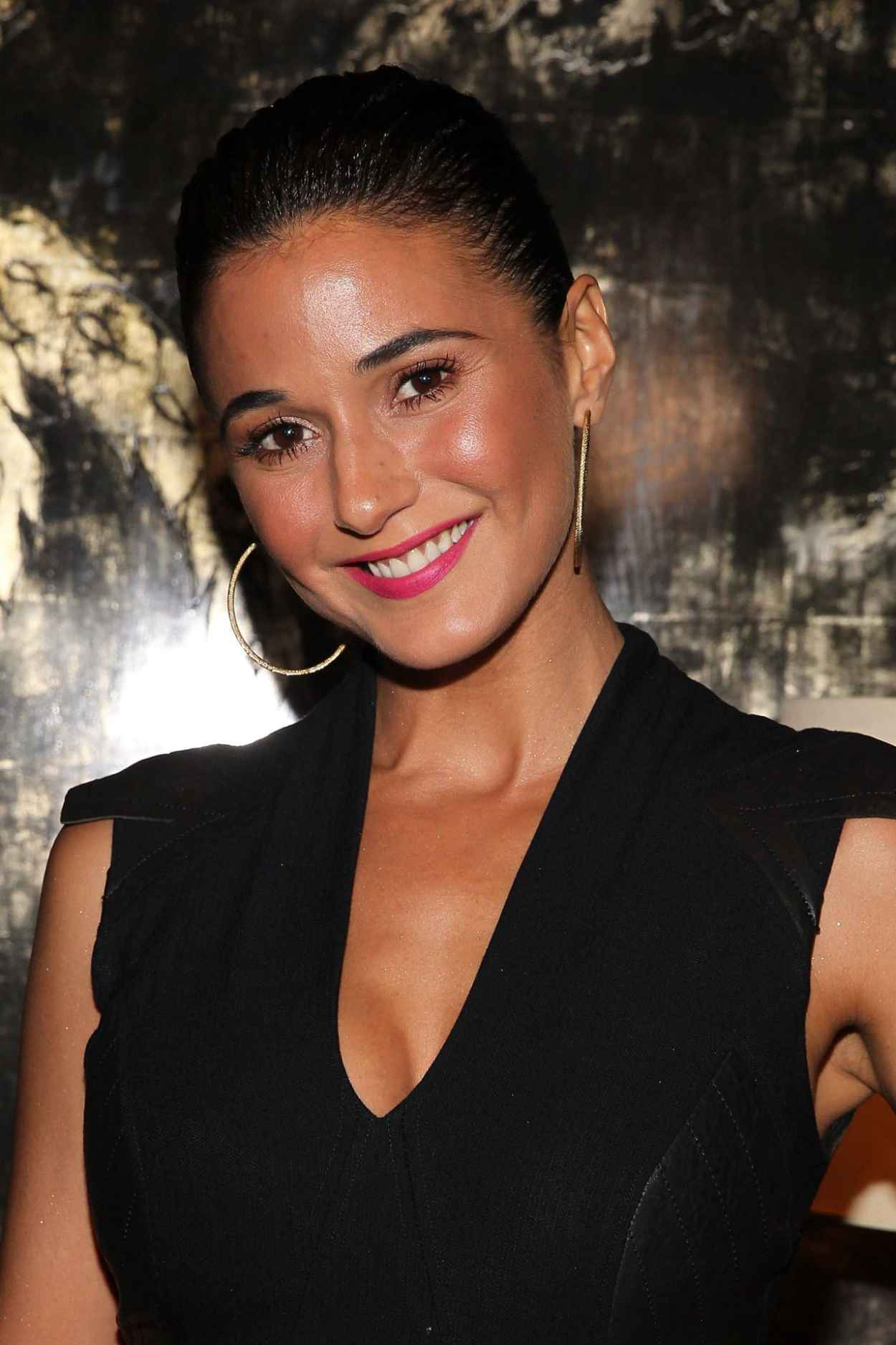 Emmanuelle Chriqui - VIOLET GREY & Bobbi Brown Celebrate The GIRL RISING Movement in Los Angeles-2