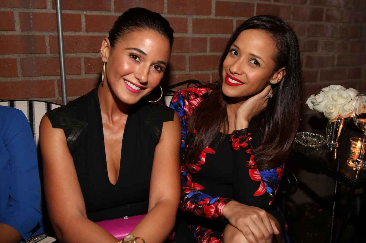 Emmanuelle Chriqui - VIOLET GREY & Bobbi Brown Celebrate The GIRL RISING Movement in Los Angeles-4