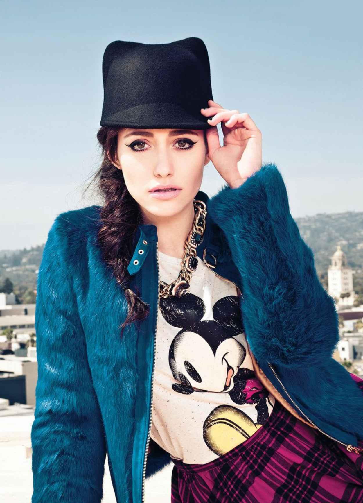 Emmy Rossum - COMPANY Magazine (UK) - January 2015 - Issue-1