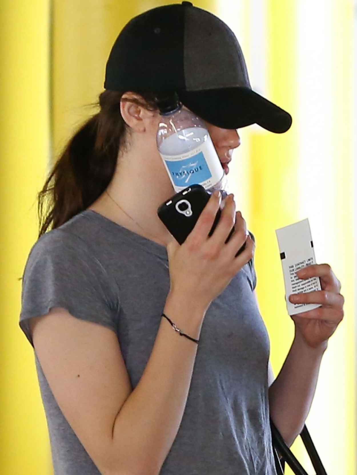 Emmy Rossum Style - Leaving the Gym in Beverly Hills-1