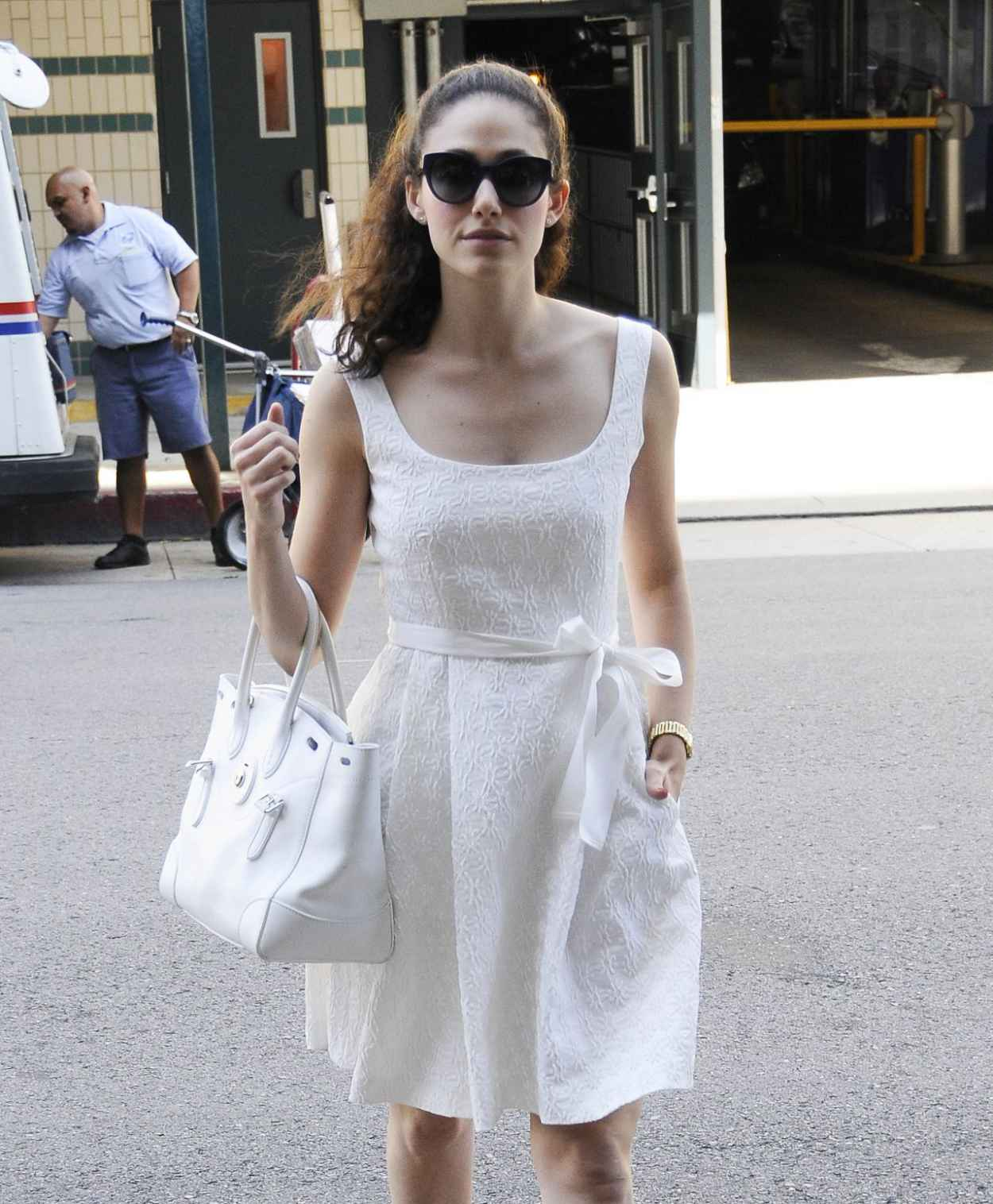 Emmy Rossum Summer Style 2015 - Out and About in Beverly Hills-3