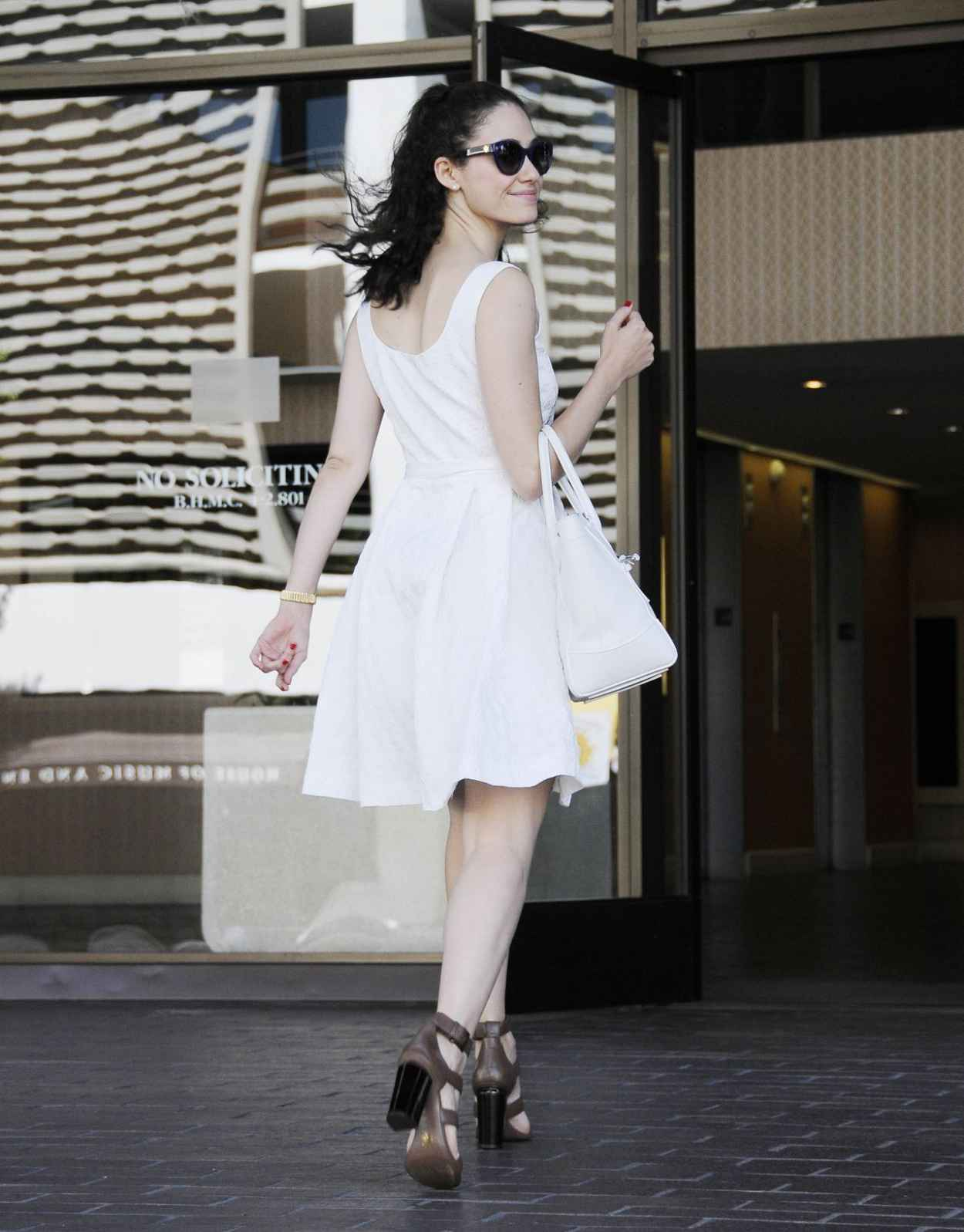 Emmy Rossum Summer Style 2015 - Out and About in Beverly Hills-4