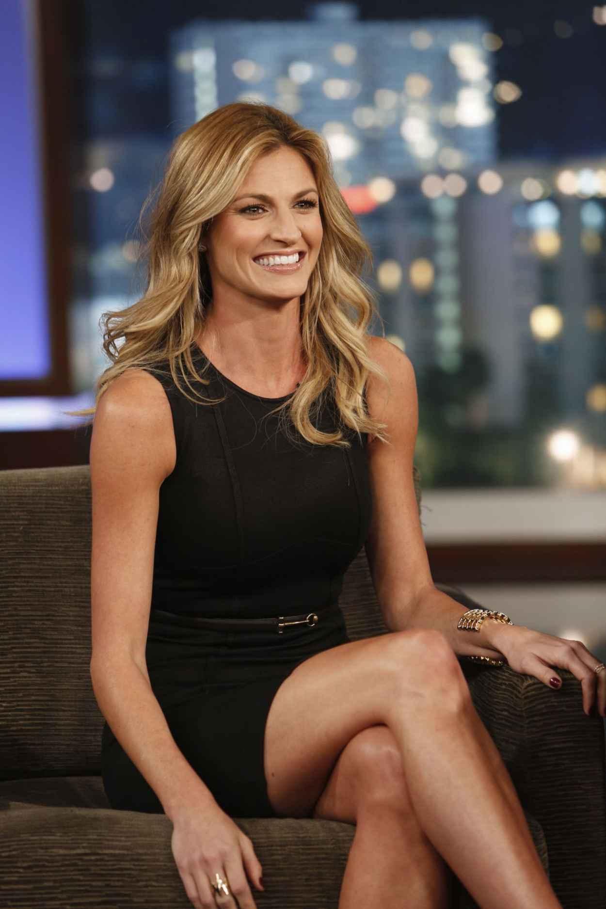 Erin Andrews on Jimmy Kimmel Live - November 2015-1