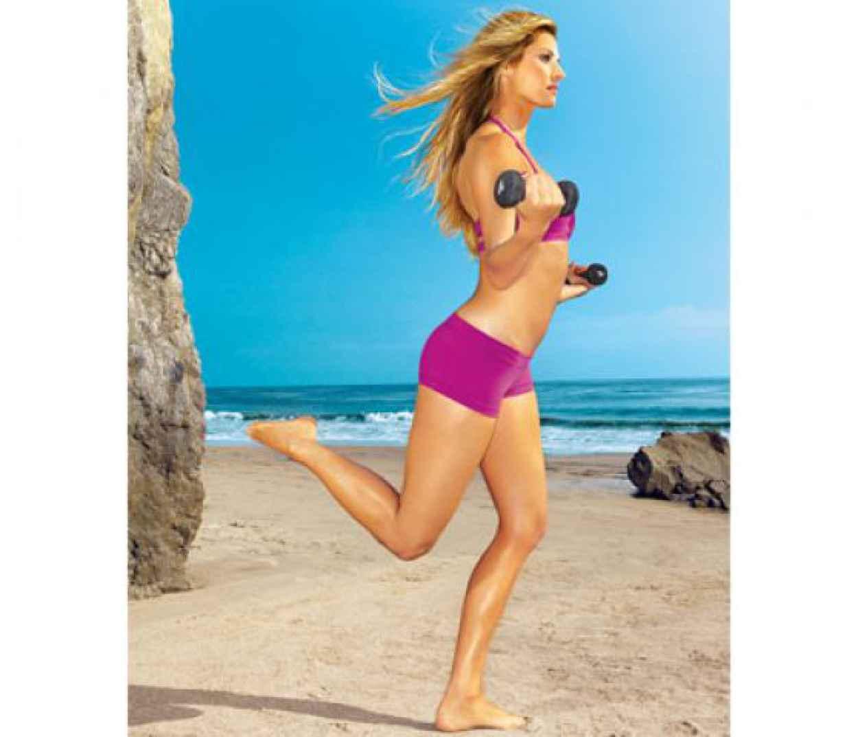 Erin Andrews - SELF Magazine Workout Pics-1