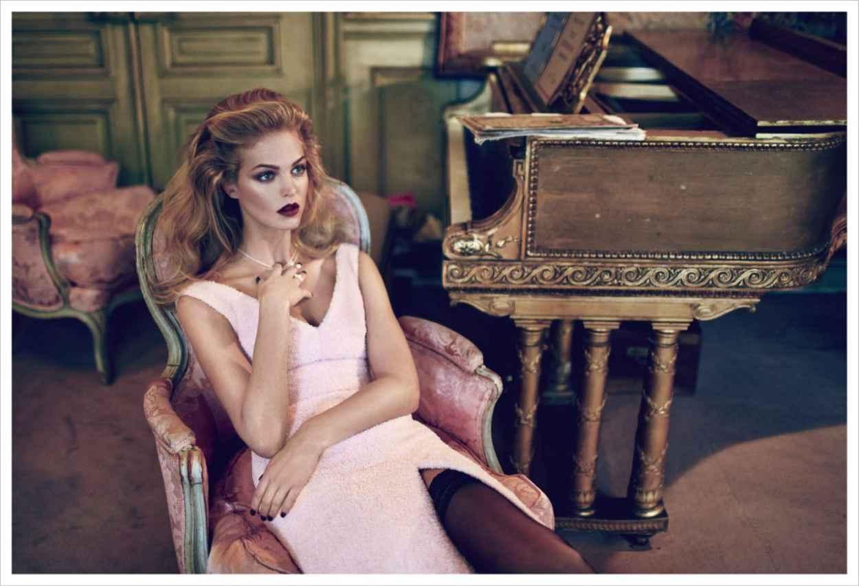 Erin Heatherton - ELLE Magazine (Russia) - December 2015 Issue-1