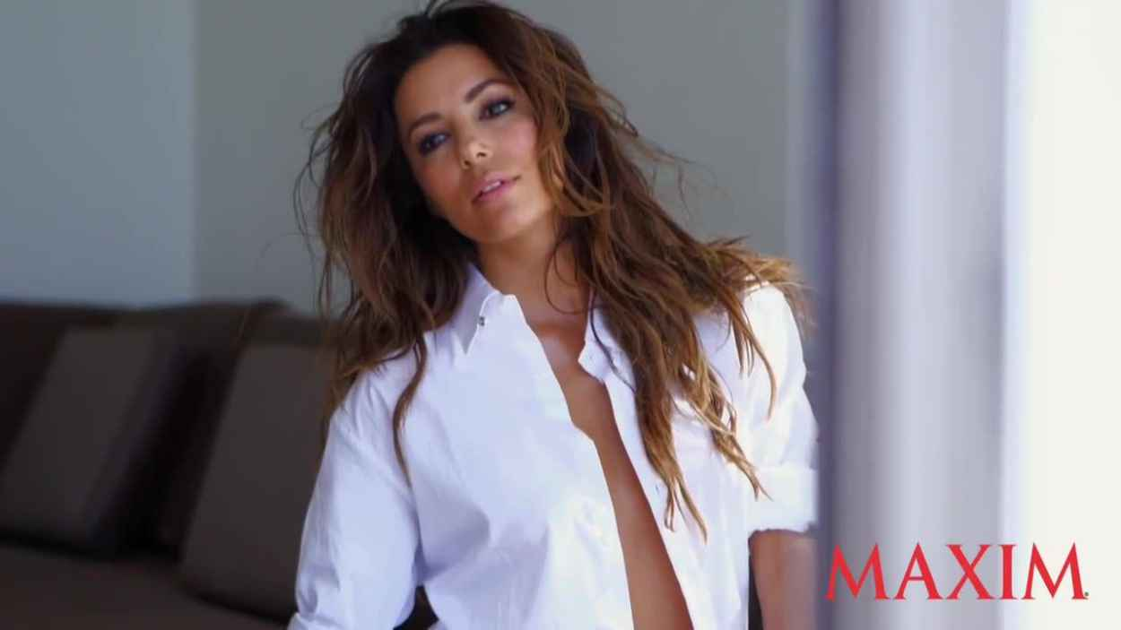 Eva Longoria - MAXIM Photoshoot (Behind The Scenes)-1