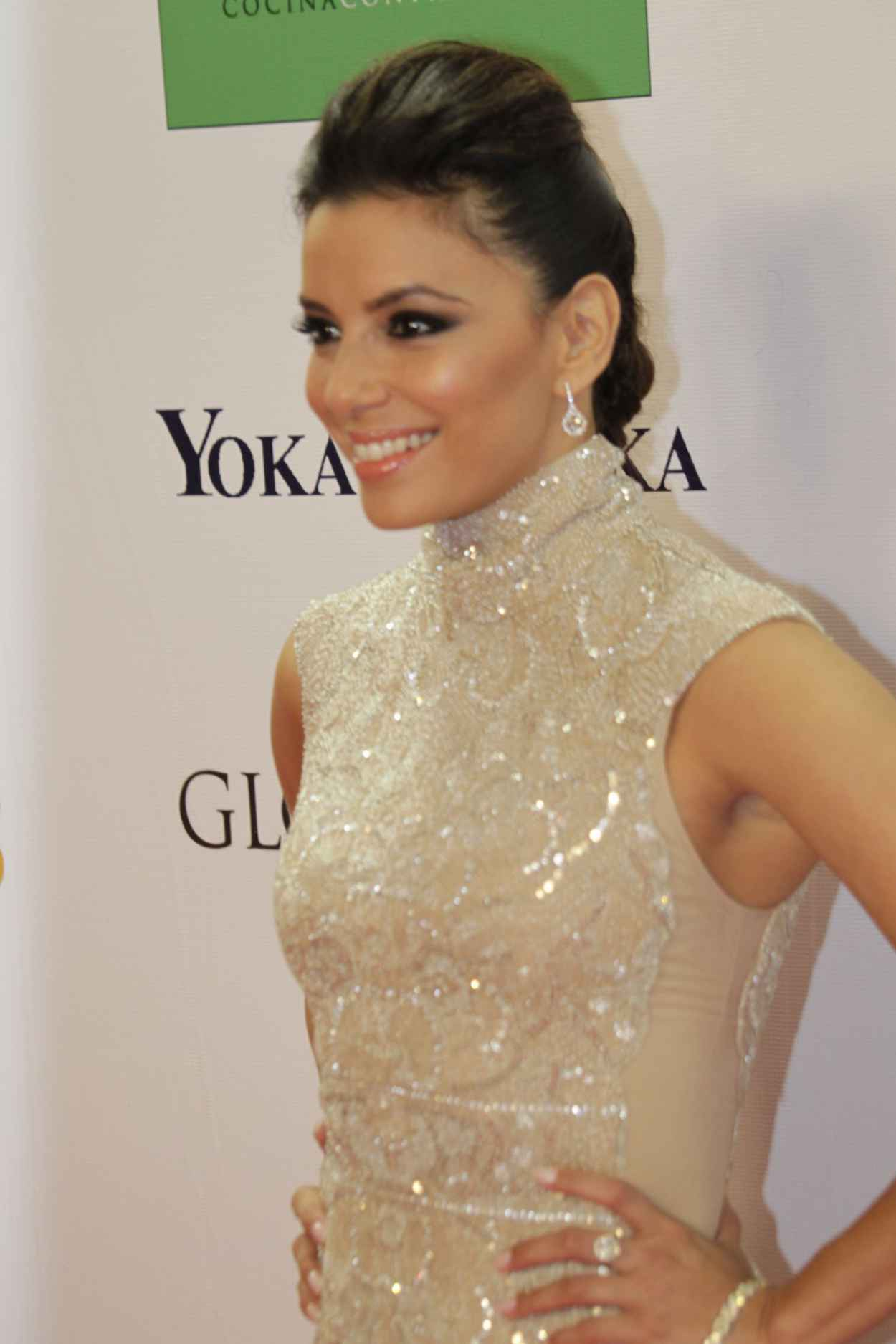 Eva Longoria Red Carpet Photos - Hosted the Global Gift Gala in Marbella for Charity-1