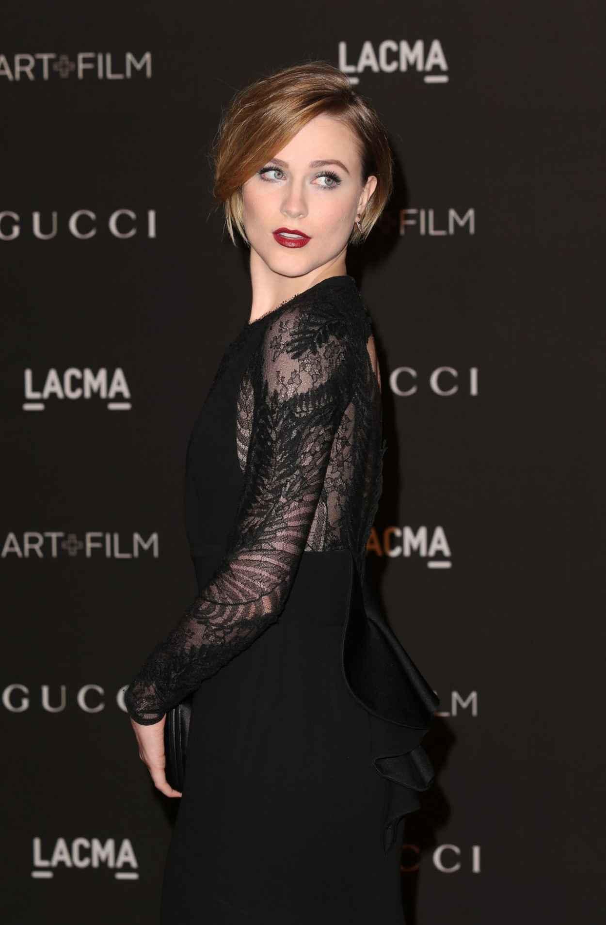 Evan Rachel Wood - 2015 LACMA Art + Film Gala in Los Angeles-1