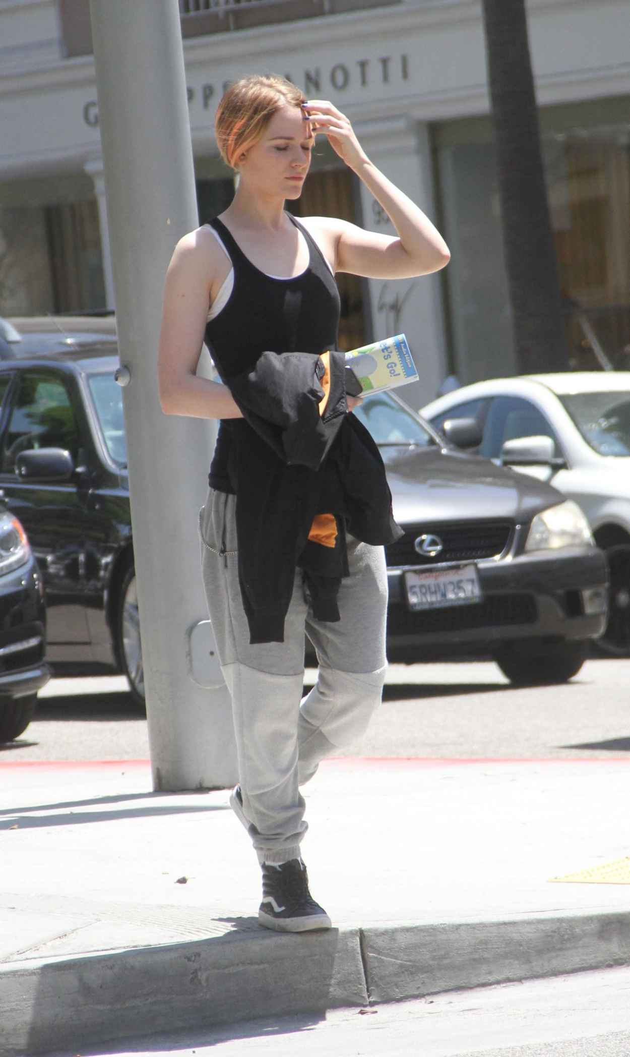 Evan Rachel Wood Street Style - Out in Beverly Hills, July 2015-2