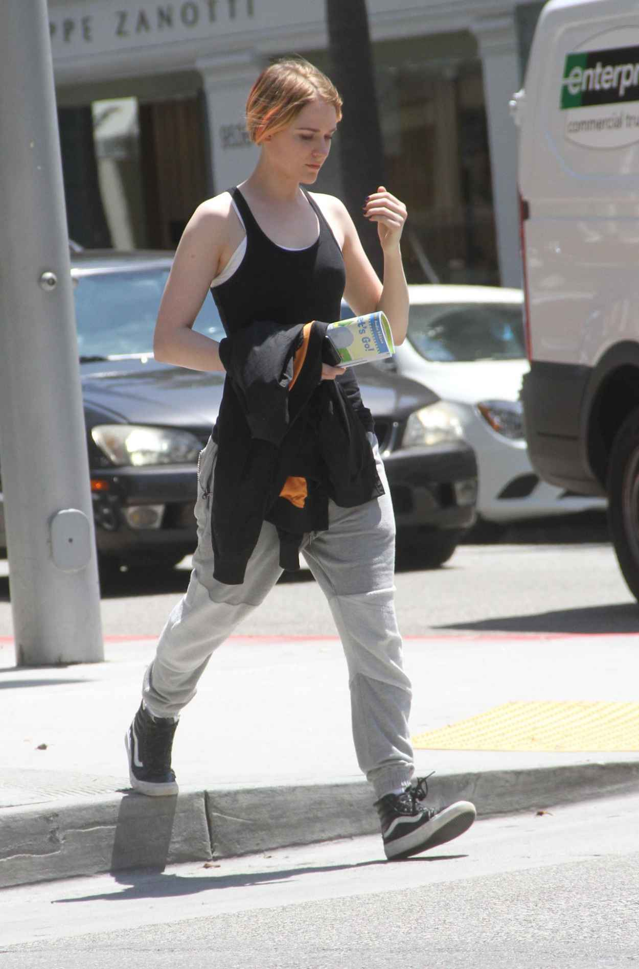 Evan Rachel Wood Street Style - Out in Beverly Hills, July 2015-3