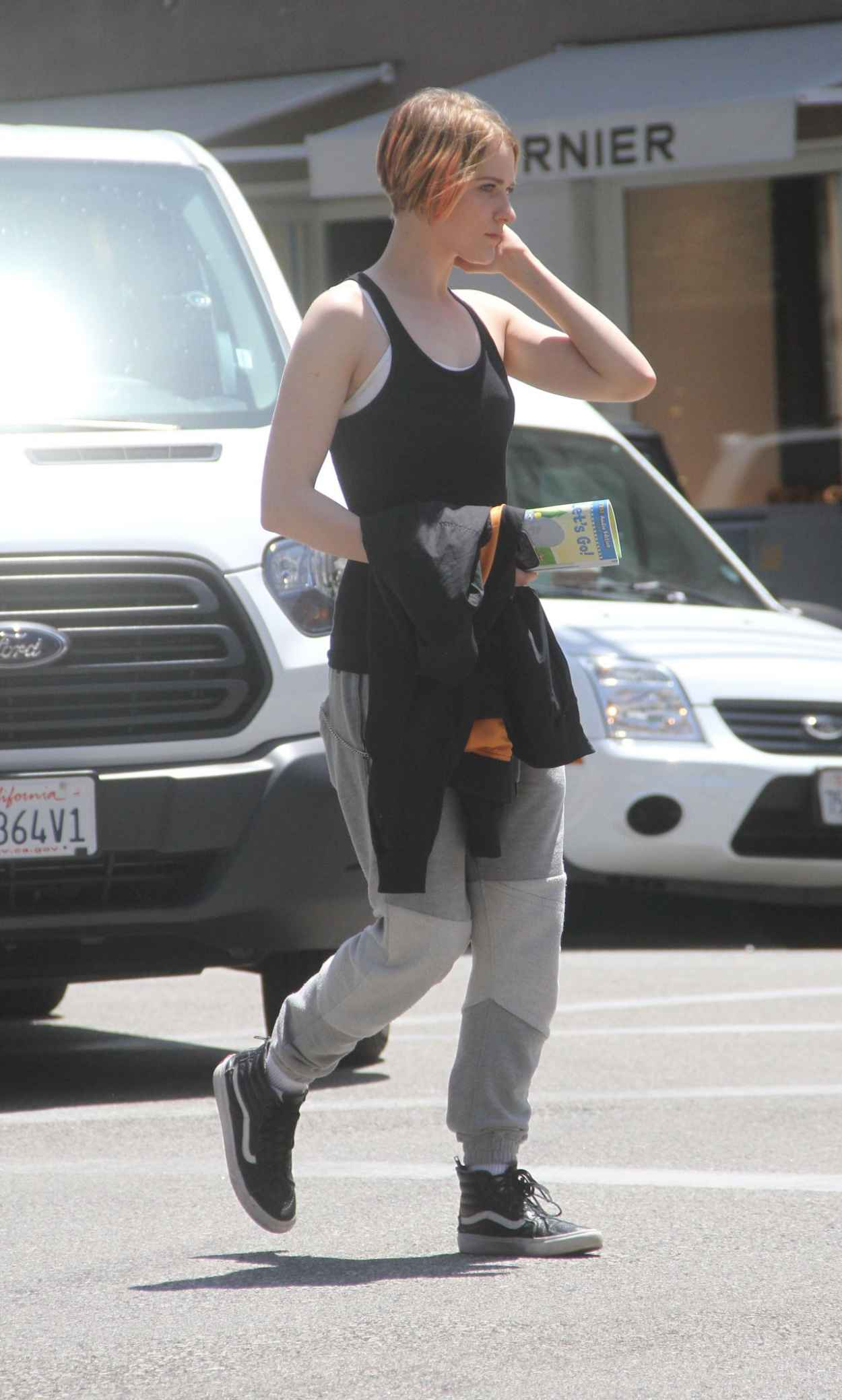 Evan Rachel Wood Street Style - Out in Beverly Hills, July 2015-5