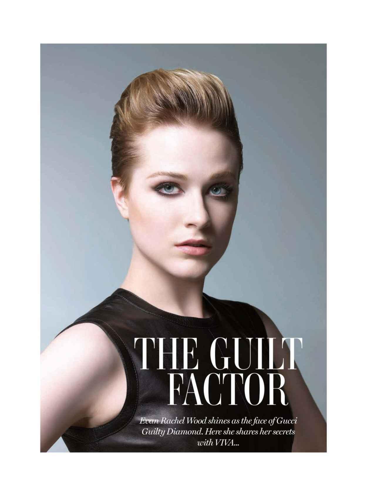 Evan Rachel Wood - VIVA Magazine (Middle East) March 2015 Issue-1