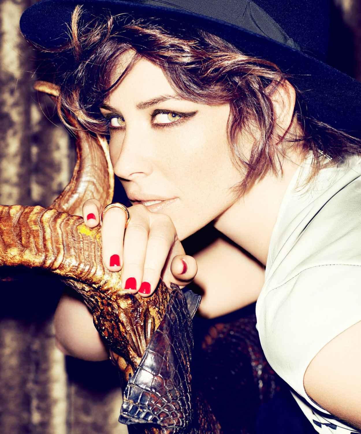 Evangeline Lilly - DUJOUR Magazine - January 2015 Issue-1