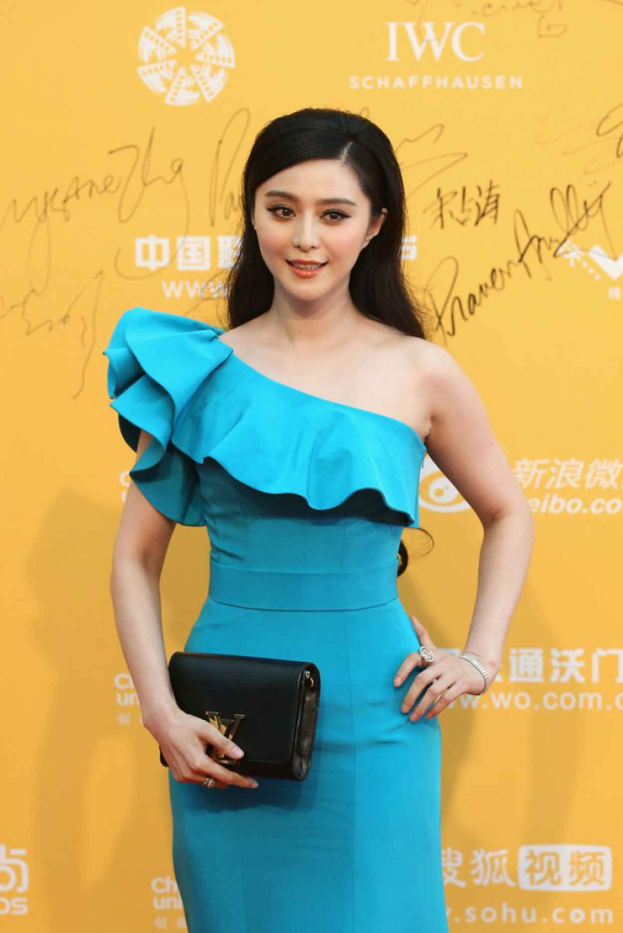 Fan Bingbing Wearing Lanvin Gown - 2015 Beijing International Film Festival-1