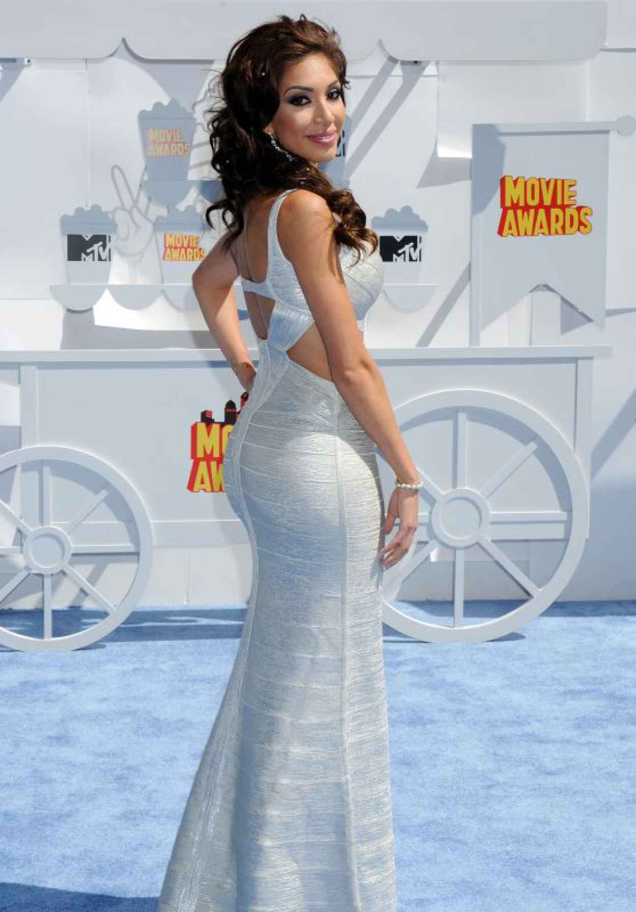 Farrah Abraham - 2015 MTV Movie Awards in Los Angeles-1