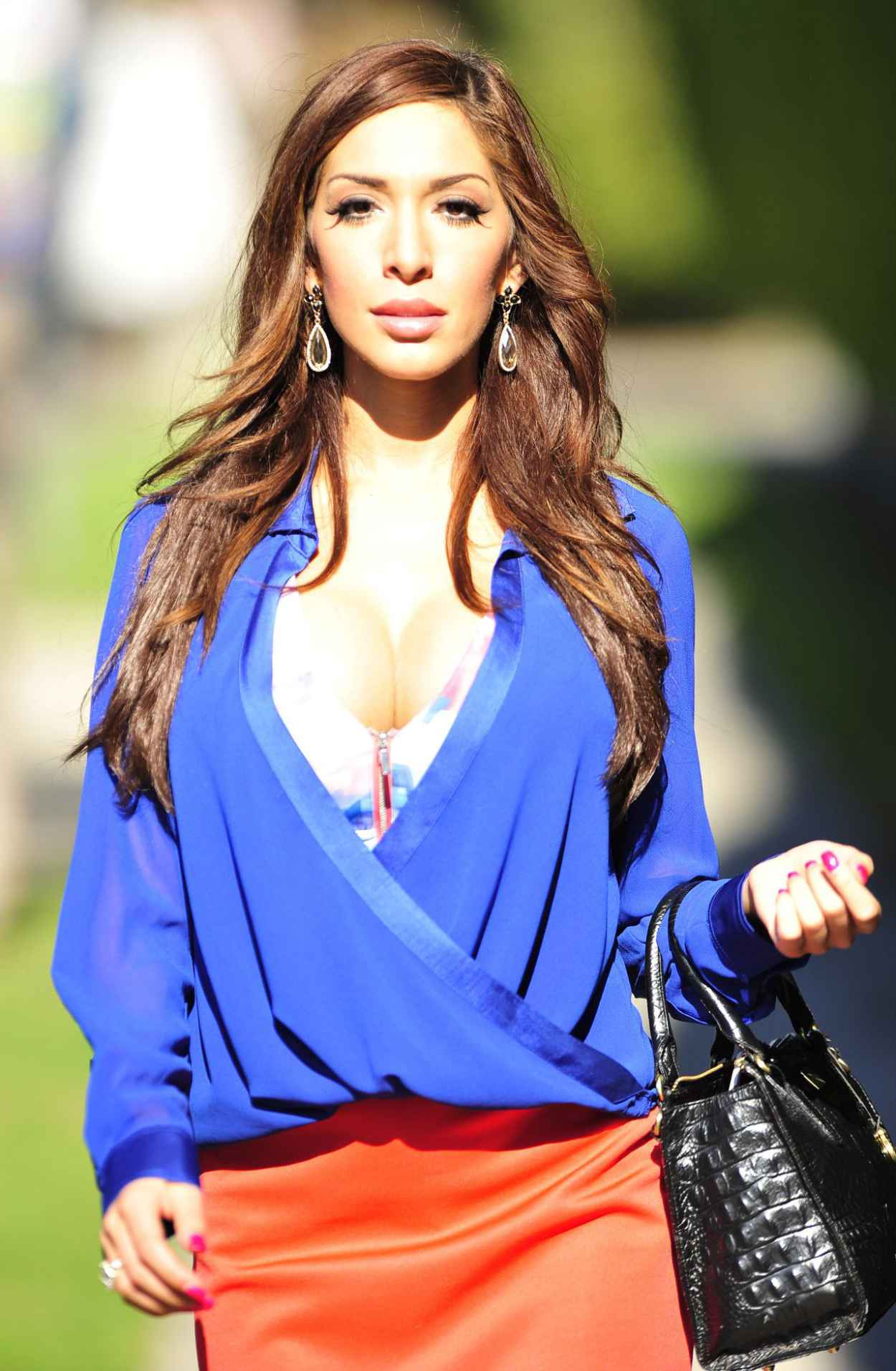 Farrah Abraham Street Style - Out fo Shopping - January 2015-1