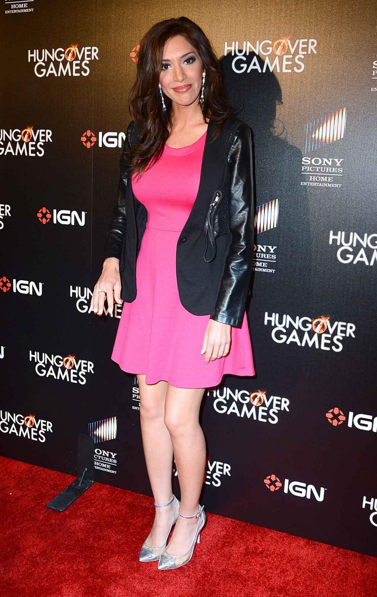 Farrah Abraham - The Hungover Games Los Angeles Premiere - Feb. 2015-1