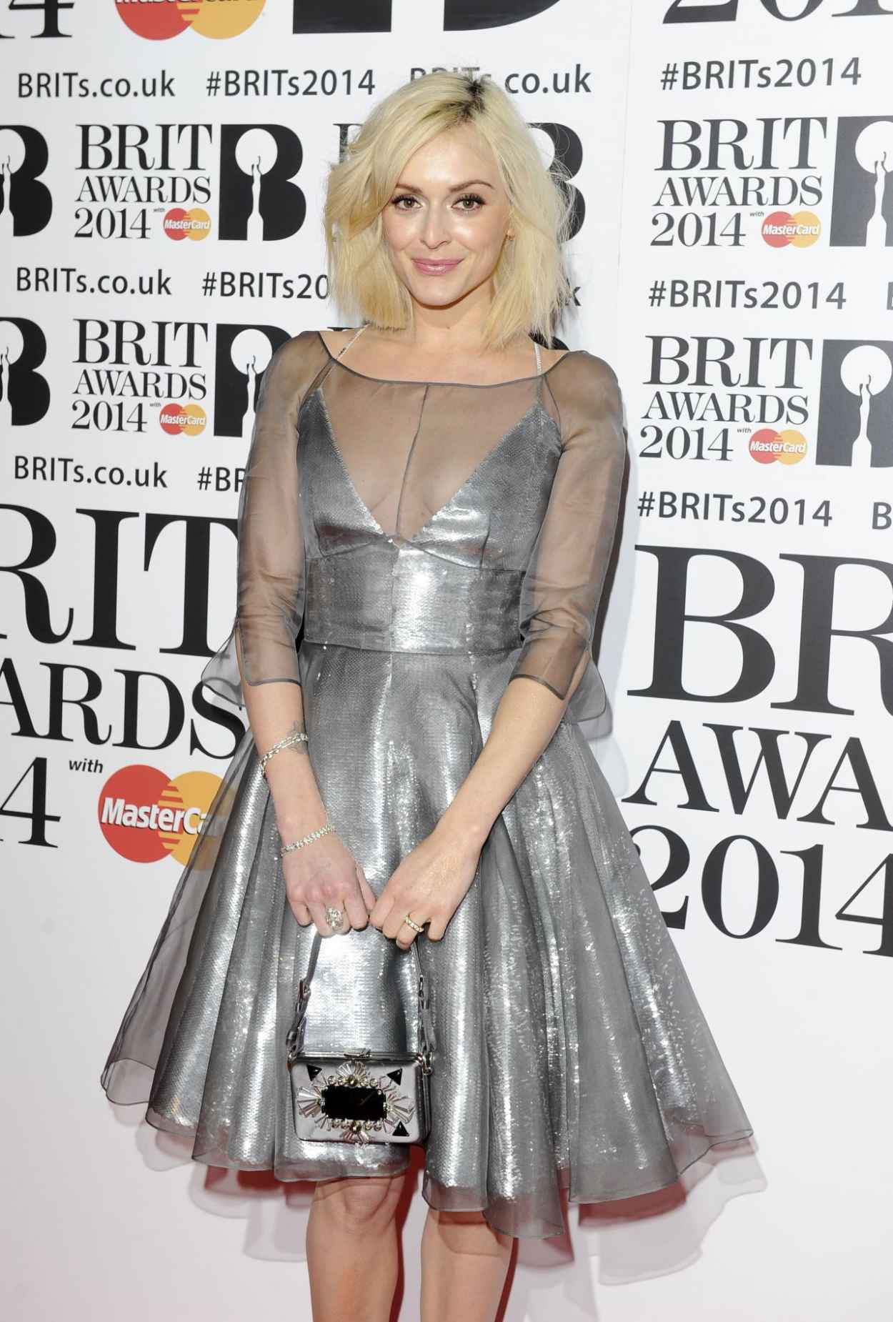 Fearne Cotton - The BRIT Awards 2015 at the 02 Arena in London-1