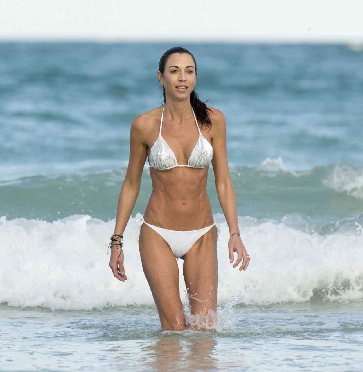 Federica Torti in White Bikini – on Vacation in Miami ...