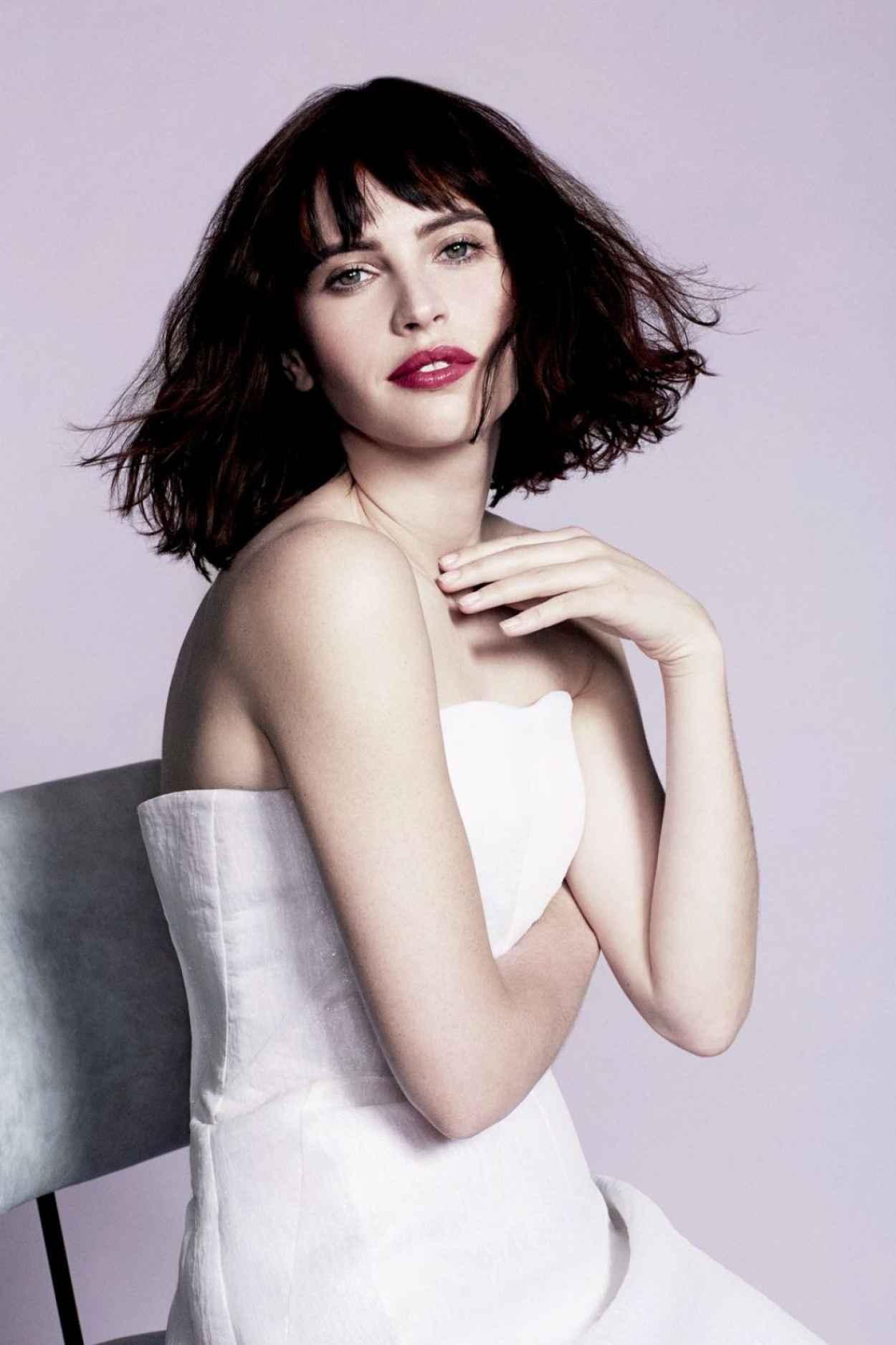 Felicity Jones - Photoshoot for You Magazine - February 2015 Issue-1