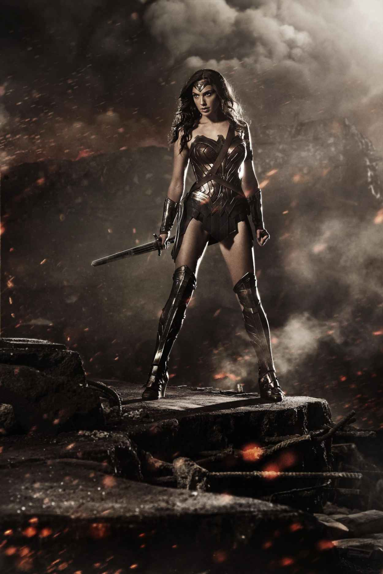 Gal Gadot - Wonder Woman Image Release at Comic-Con 2015 in San Diego-1