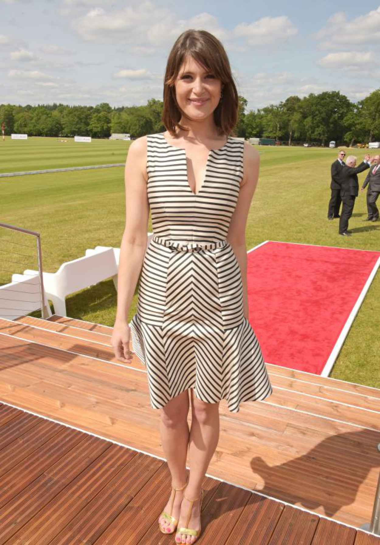 Gemma Arterton - Audi Polo Challenge in London, May 2015-1