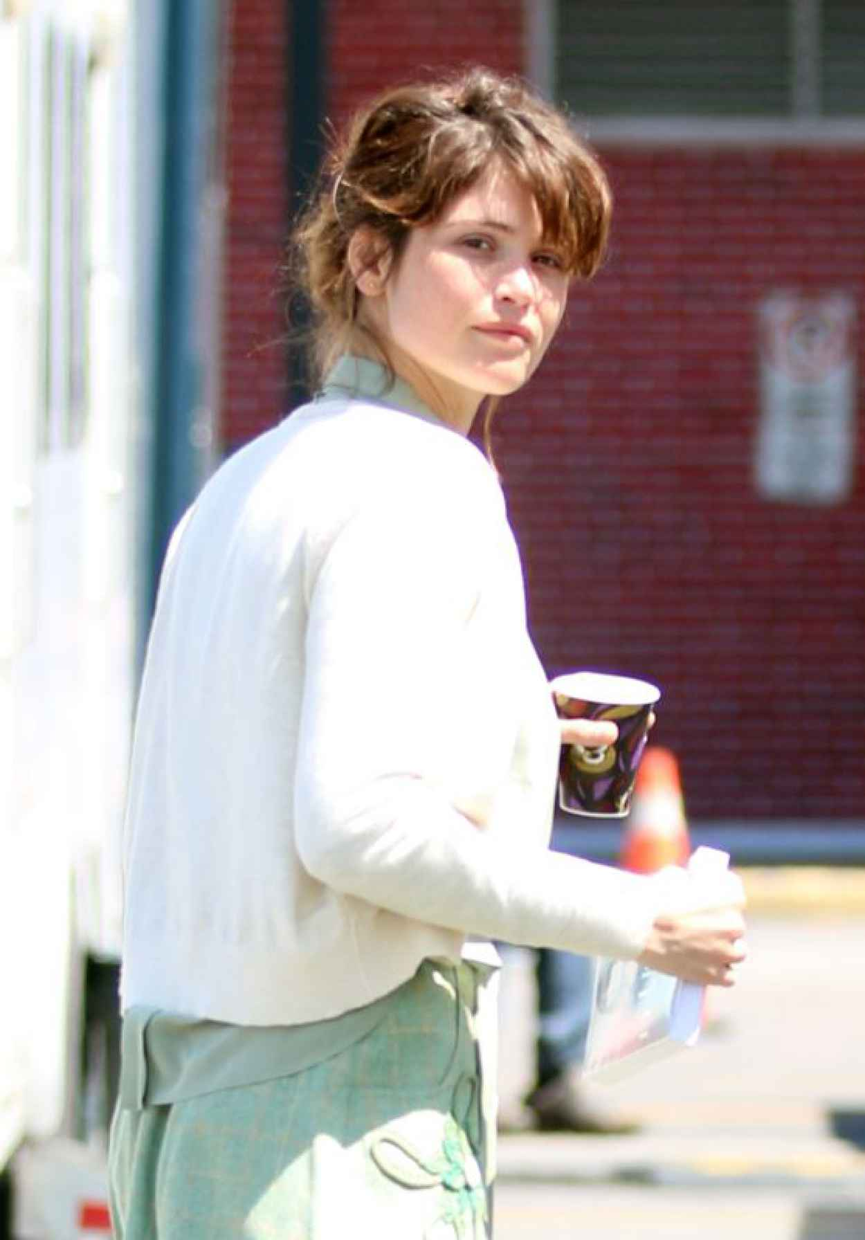 Gemma Arterton - On the set of The History Of Love in Montreal, May 2015-1