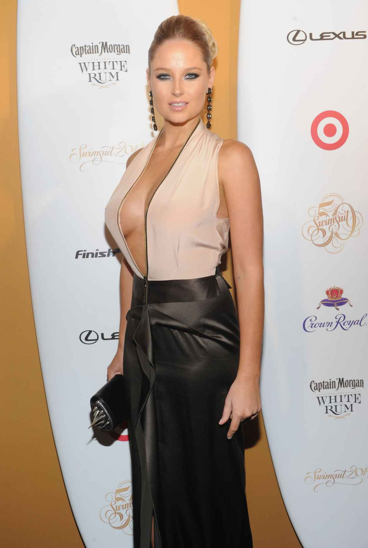 Genevieve Morton - Sports Illustrated Swimsuit Celebrates 50 Years Of Swim In New York City-1