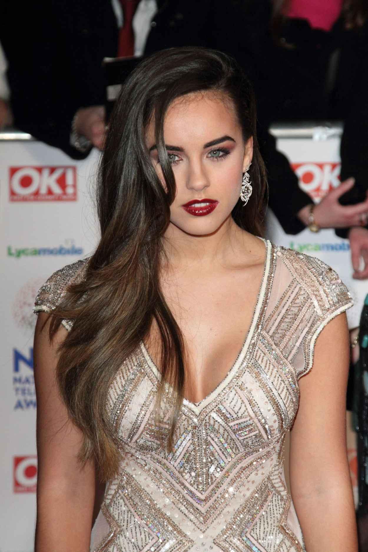 Georgia May Foote at National Television Awards 2015 in London-1